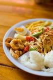 Papaya salad food selection Royalty Free Stock Photography