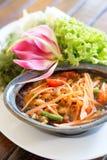 Papaya Salad Stock Photography