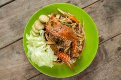 Papaya salad Royalty Free Stock Photography
