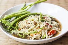 Papaya salad. Somtum , Thai food Stock Photos