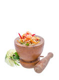 Papaya salad Stock Images