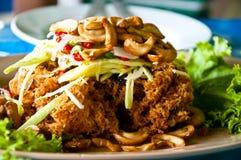 Papaya Salad Thai Food. Royalty Free Stock Photography