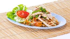 Papaya salad Thai food Royalty Free Stock Images