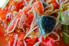 Papaya salad Stock Images