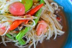 Papaya salad Royalty Free Stock Images
