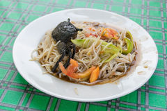 Papaya salad. Very delicious thai food Stock Image