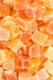 Papaya secada Fotos de archivo libres de regalías