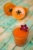 Papaya smoothie Royalty Free Stock Photography