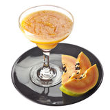 Papaya smoothie Royalty Free Stock Image