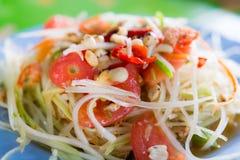 Papaya or Som Tam Royalty Free Stock Images