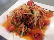 Papaya or Som Tam Stock Photography