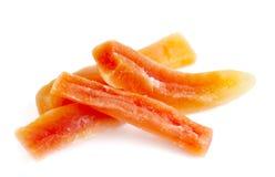 Papaya Sticks Stock Images
