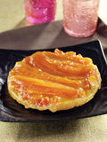 Papaya tatin tarlet Royalty Free Stock Photo