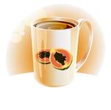 Papaya tea Stock Images