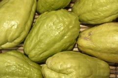 Papaya verde Fotografía de archivo libre de regalías