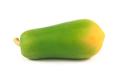 Papaya. On the white background Stock Images