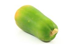 Papaya. On the white background Stock Photos