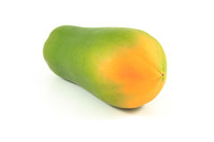 Papaya. On the white background Stock Photo