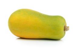 Papaya on white background Stock Images