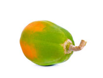 Papaya on white background. Royalty Free Stock Photography