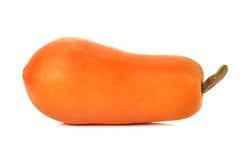 Papaya on white background Royalty Free Stock Images