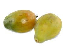 Papaya zwei Lizenzfreie Stockfotos