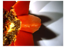 Papaya01 Stock Photography