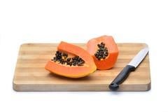 Papayafrucht Lizenzfreie Stockfotografie