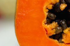 Papayafrucht Lizenzfreies Stockbild