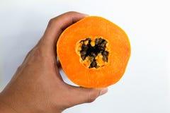Papayafrucht Lizenzfreies Stockfoto