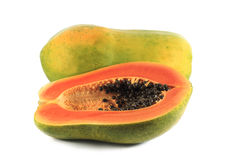 Papayafrukt Arkivbild