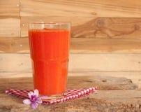 Papayafruktsaft Arkivbild