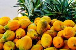 papayas Royaltyfria Foton