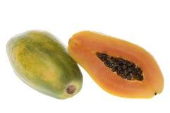Papayas Isolated Royalty Free Stock Image