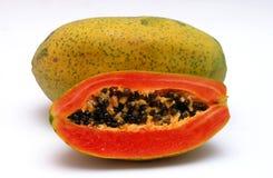 Papaye Photos libres de droits