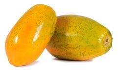 Papaye. Images libres de droits