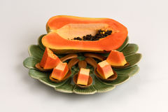 Papaye, papaye Photographie stock