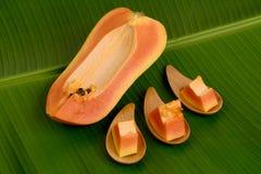 Papaye, papaye Photographie stock libre de droits