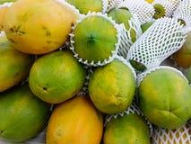 papayes Photos libres de droits