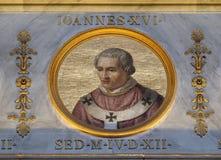 Pape Antipope John XVI images stock