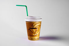 Pape cup of coffe Royalty Free Stock Photos