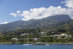 Pape'ete, Tahiti, French Polynesia. View of Pape'ete, Tahiti, French Polynesia Royalty Free Stock Photo