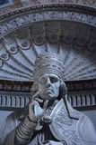 Pape fâché images stock