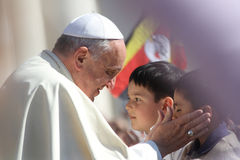 Pape Francis Portrait Images libres de droits