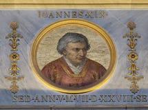 Pape John XIX images stock