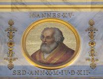 Pape John XV images stock