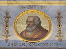 Pape John XV image stock