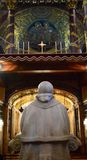 Pape Overlooking le changement image libre de droits