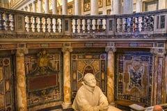 Pape Tomb Basilica Santa Maria Maggiore Rome Italy image libre de droits