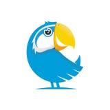 Papegaaikarakter Stock Foto's